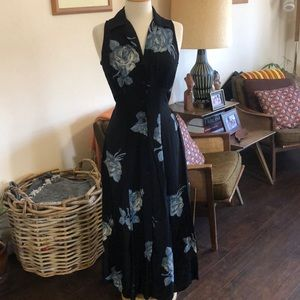 Vintage 90s maxi dress
